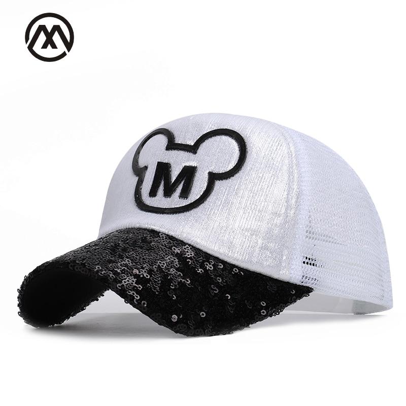 Cartoon Mickey Childrens Hip Hop Hats Boys Girls Universal Adjustable High Quality Outdoor Shade Summer Net Caps Streetwear Kid Boy's Accessories Boy's Hats
