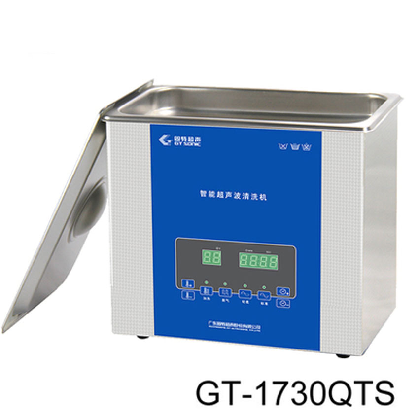 1PC  AC110v/220v 3L 1730QTS ultrasonic cleaner timer& heater&degas&memory Cleaning parts Heating Power 100W free dhl 1pc digital ultrasonic cleaner for industry specific cleaning with degas function with dual frequency power gt 1730qts