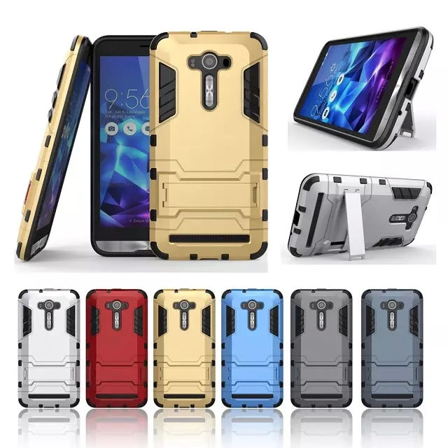 official photos 2c955 b4705 New Arrival Cool Iron Man Armor Dual Phone Cases For Asus ZenFone 2 ...