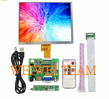 цены Raspberry Pi 3 Display 8 Inch Screen HDMI LCD TFT 1024*768 lcd sceen Module remote drive board for Raspberry Pi 3 2B B Pcduino