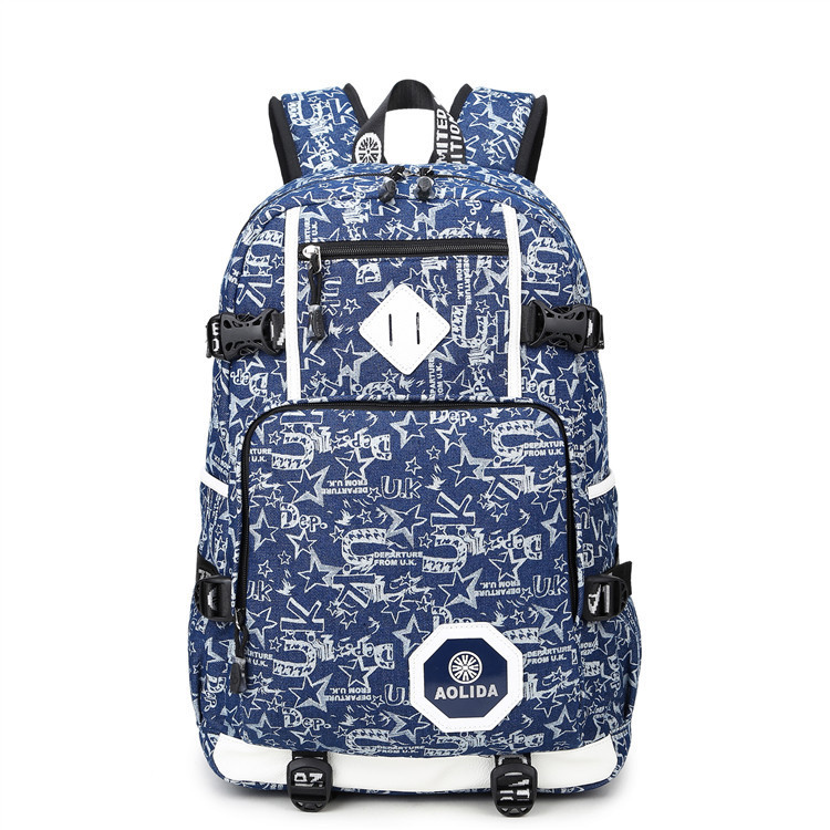 Image 4 - 2018 Men's Backpack Female Camo School Bags For Boy Girl Teenagers High School Middle back pack Large mochila feminina AXB21-in Backpacks from Luggage & Bags