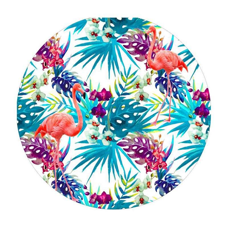 urijk 1pc 150cm dia hot sale flamingo large round beach towel sand beach supplies printed microfiber - Beach Towels On Sale