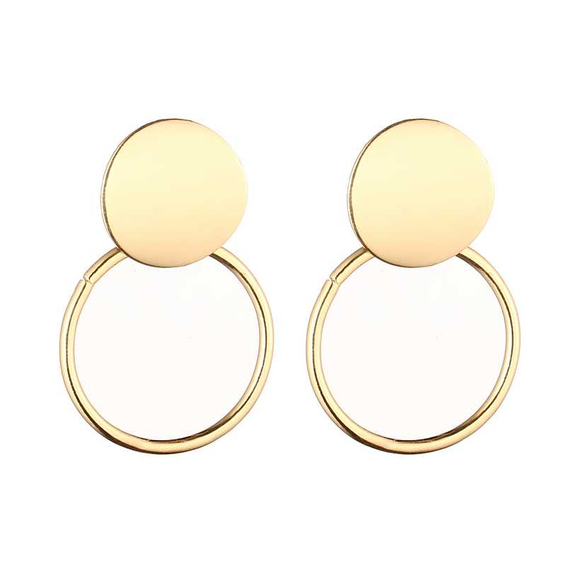 LOVBEAFAS Vintage Drop Dangle Earrings For Women Statement Earrings 2019 Fashion Jewelry Metal Gold And Silver Earrings