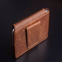 For Samsung Galaxy Note 9 Case PierreCardin Brand New Genuine Leather Mobile Phone Bag Hanging Belt Bag Case Cover Free Shipping