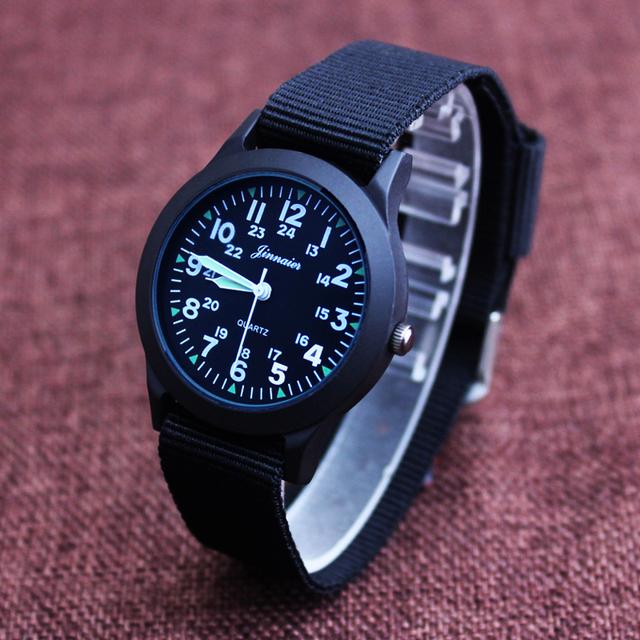 2018 JINNAIER new famous brand men children boys fashion cool quartz Saber watches students canvas electronic Wrist watch
