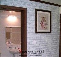white brick self adhesive wallpaper for living room bedroom kitchen