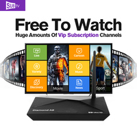 Dalletektv Android Smart TV Set Top Box Amlogic S912 Octa-Core 2G French European Arabic UK IPTV Subscription Sports Channels
