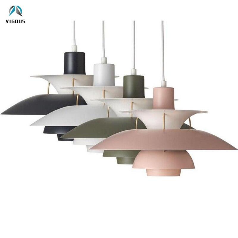 Nordic E27 Led Pendant Light Colorful Umbrella Led Suspend Lamp Dining Room Led Pendant Lamp Led Lamparas Lighting Fixtures - 3