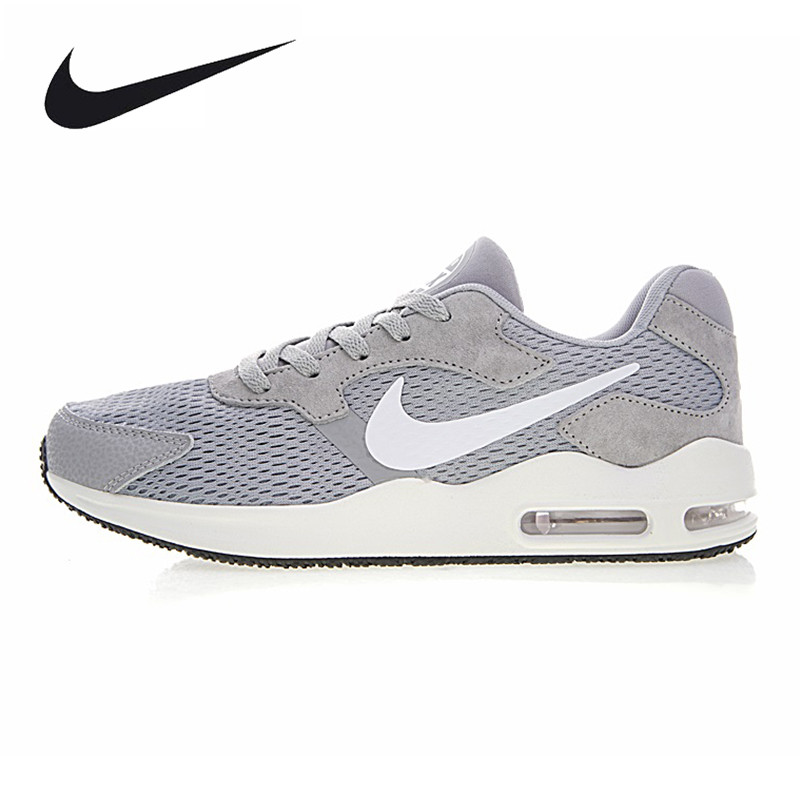Nike Air Max Guile Men's Running Shoes ,Outdoor Sneakers Shoes,Grey, Lightweight Wearable Breathable Shock-absorbing 916768 001 очки nike optics ignition dark magnet grey white max outdoor lens