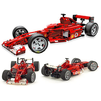 DECOOL Technic City Series Racers F1 Racer 1:10 Car Building Blocks Kits Bricks Classic Model Kids Toys Marvel Compatible Legoe