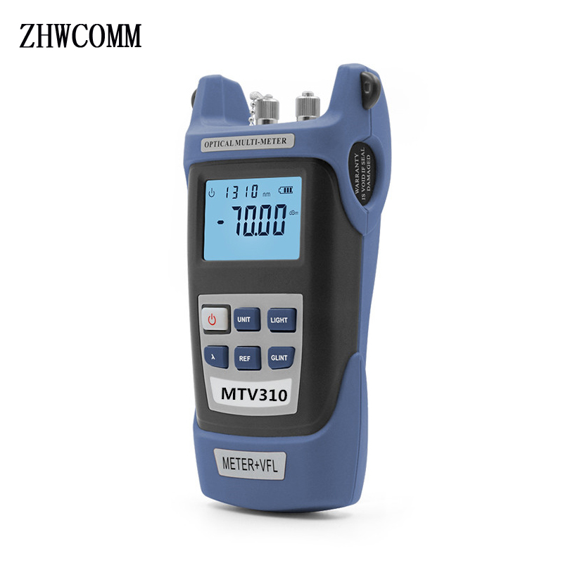 MTV310 fiber optic power meter Fiber Optic Cable tester with 5mW VFL fiber Visual Fault Locator free shipping