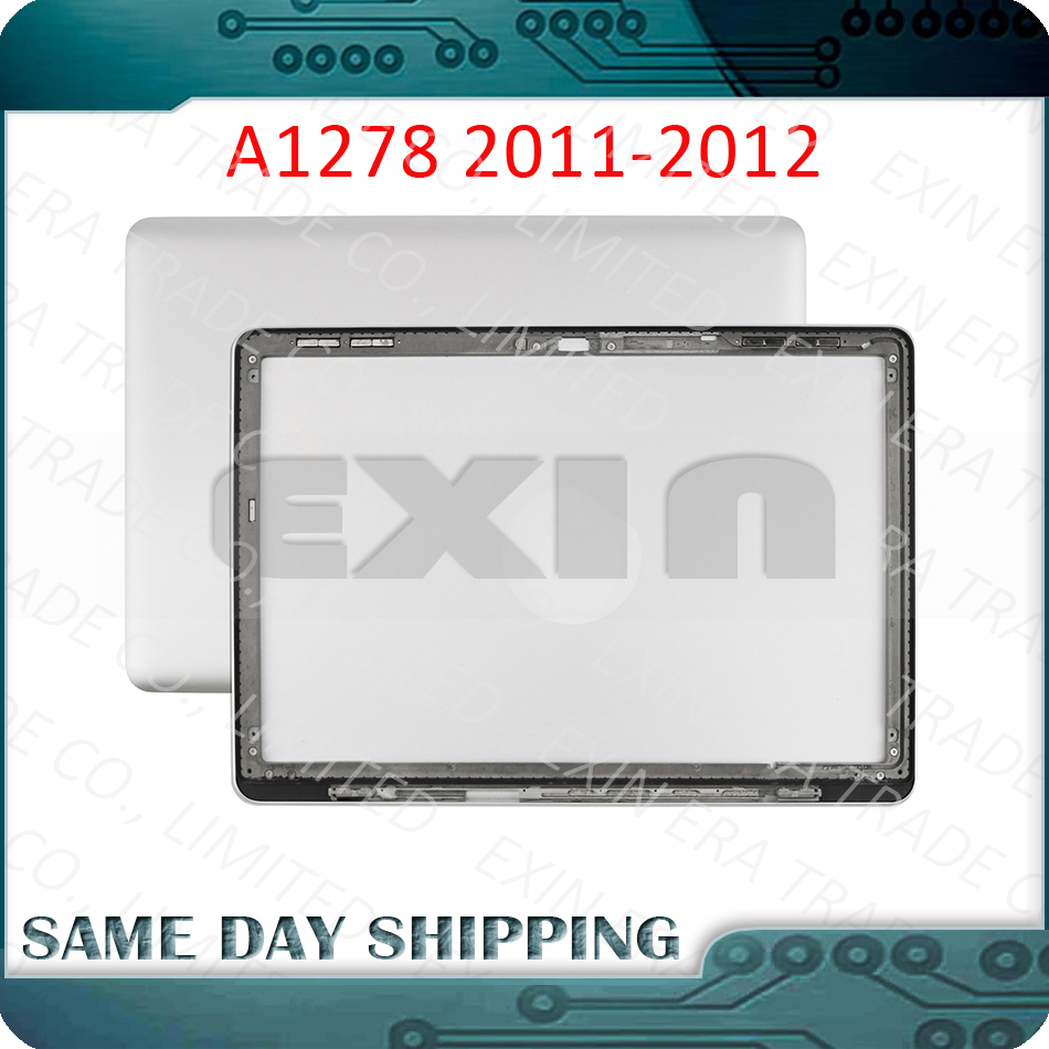 """Original for Macbook Pro 13"""" Unibody A1278 LCD Back Cover Top Lid Cover 2011 2012 Year MC700 MD313 MC724 MD313 MD314 MD101 MD102"""