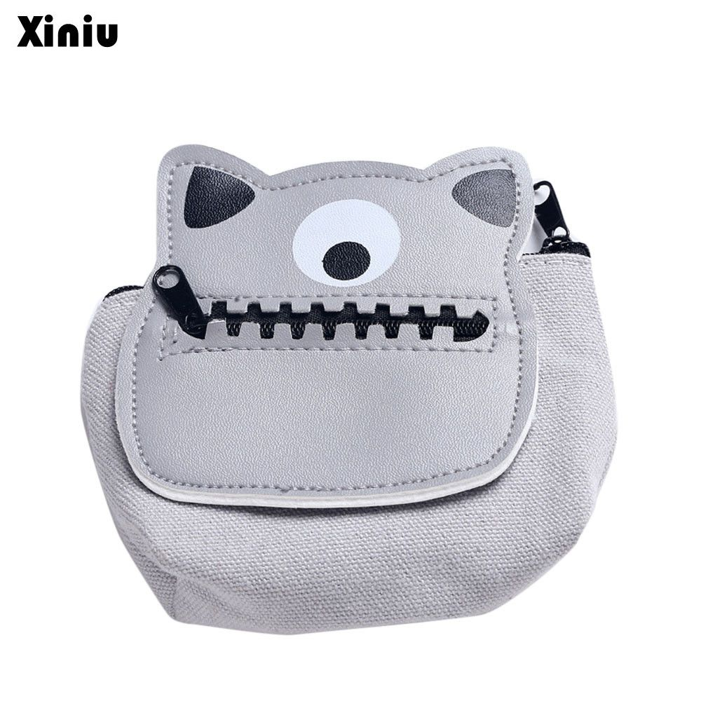 Xiniu Coin Purse Zipper Change Purses Wall Women Cartoon Girls Cute Fashion Luxury Wallet Bag Pouch Key Card Holder Gift