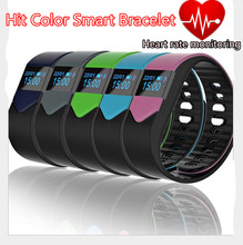 Hit the Color Smart Heart Rate Monitoring Bracelet Anti-Lost Waterproof Fashion Sports Wristband Bluetooth Camera Health Monitor