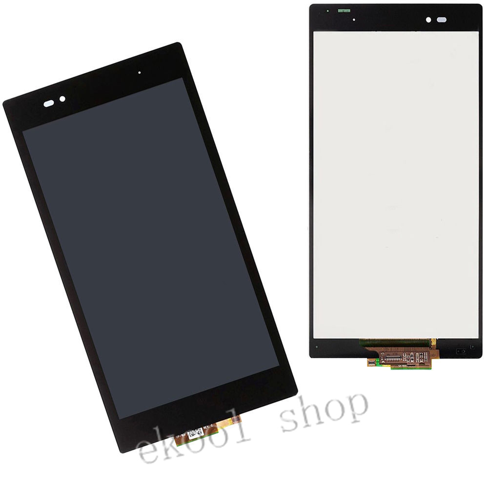 LRuiize 100% Test Black LCD Display Screen For Sony Xperia Z Ultra XL39h XL39 C6802 C6806+Touch Digitizer Assembly+Tools lruiize 100% test black lcd display screen for sony xperia z2 d6502 d6503 d6543 l50w touch digitizer assembly tools