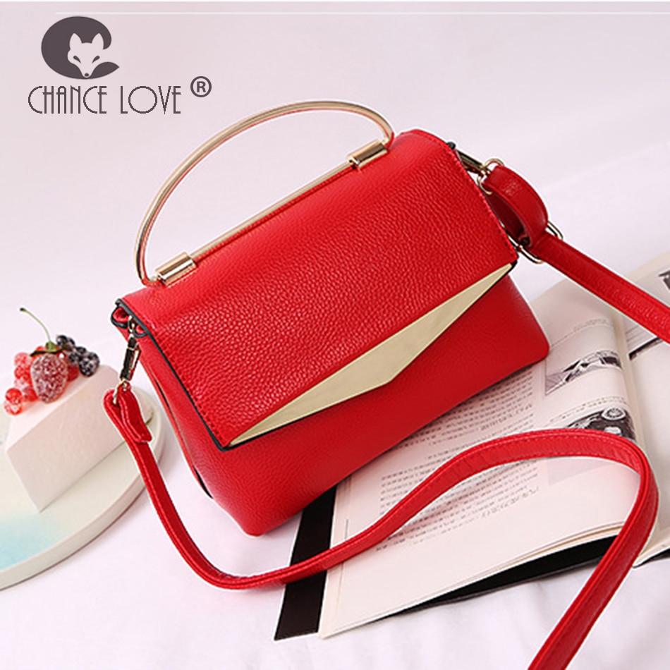 Chance Love women bag 2018 new Genuine leather handbags fashion handbag shoulder crossbody female bag Red Green Flap bag chance love bag female women 100