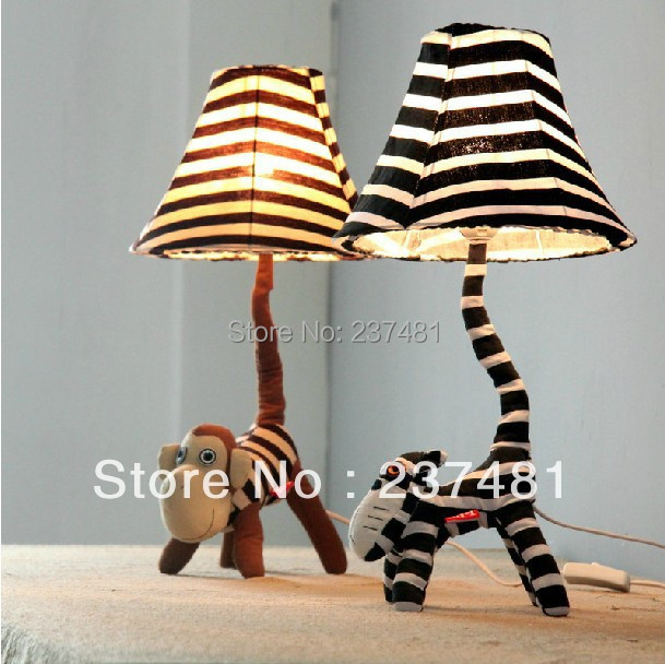 Christmas gift cartoon doll table lamp for bedroom children cartoon doll table lamp for bedroom children lighting cloth handmade table lights mozeypictures Images