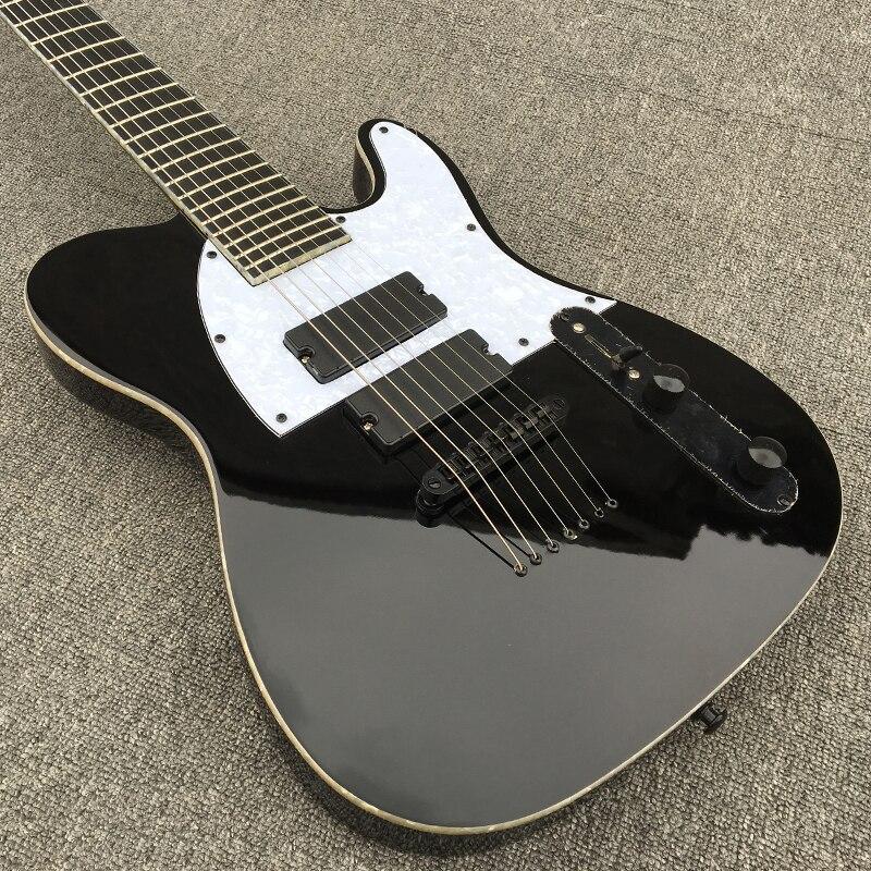 buy new high quality 7 strings electric guitar mahogany body guitarra ebony. Black Bedroom Furniture Sets. Home Design Ideas