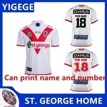 9a11f2d2a4d YIGEGE ST. 2018 HOME St George Illawarra Dragons 17 18 Ant Man rugby jerseys