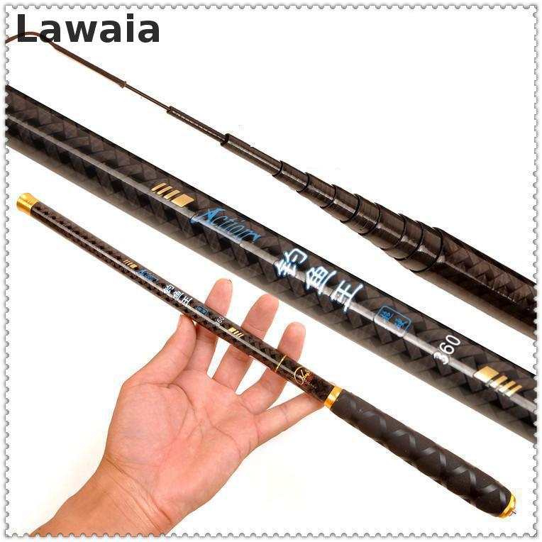 Lawaia Mini-miniature Miniature Ultra-short Fishing Rods Carbon Ultra-light Hard Stream Wrenches Pole Rods Short Section Fishing hard pedal small mini water fishing