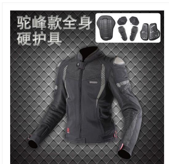 Nouveau komine jk089 3d titane maille traspirante giro di corsa ad alte prestazioni abbigliamento résistenza moto giacca