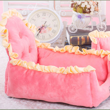 Pet Dog dog beds for small dogs Kennel Bichon Nest Cushion Puppy Cat Soft Warm Autumn  Bed Mat Blanket Washable