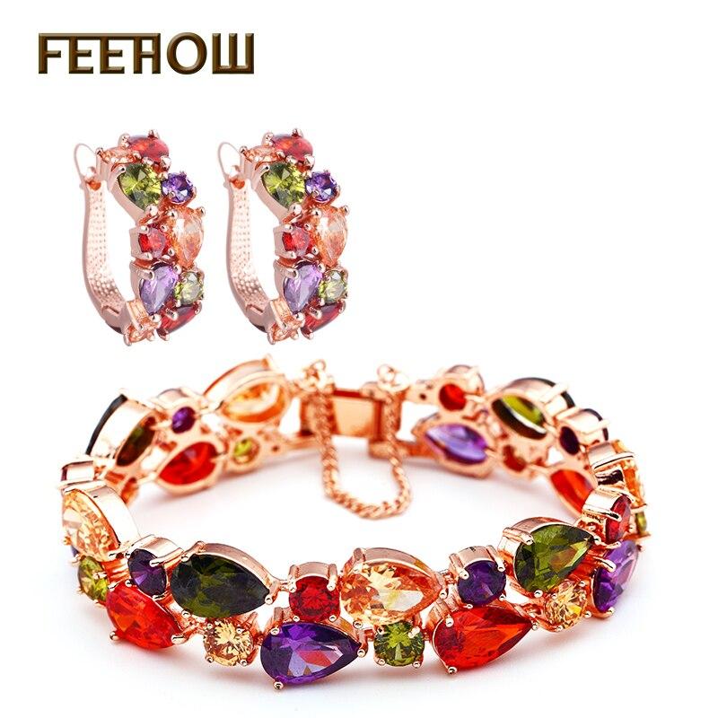 Винтажный ювелирный набор FEEROW