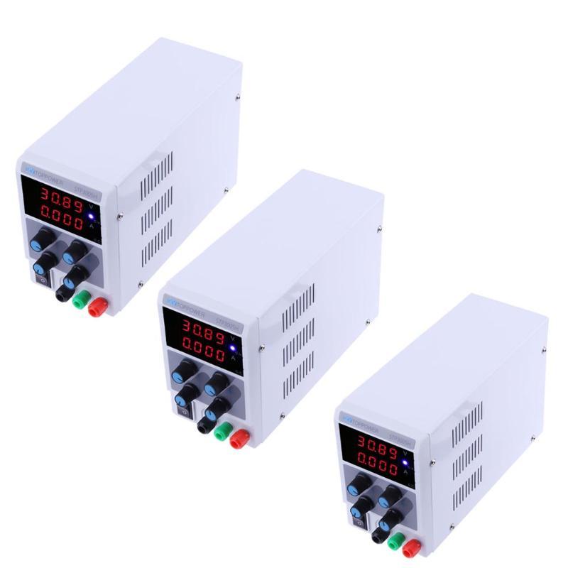 VKTECH STP3005H haute précision réglable numérique alimentation régulée 0-30 V 0-5A courant tension 4LED affichage alimentation