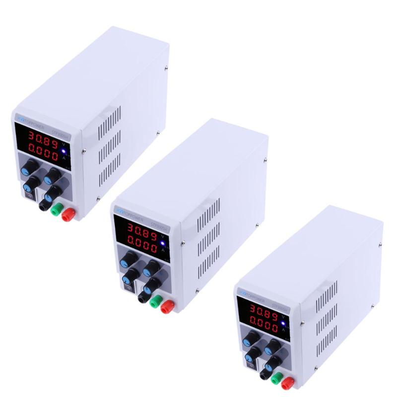 VKTECH STP3005H High Precision Adjustable Digital Regulated Power Supply 0-30V 0-5A Current voltage 4LED Display Power Supply 1200w wanptek kps3040d high precision adjustable display dc power supply 0 30v 0 40a high power switching power supply