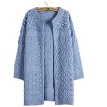 Свитера для женщин модные длинные свободные свитера Кардиган твист бисера Тонкий, вязаные свитеры с длинными рукавами для женщин Костюмы Vestidos MMY17148