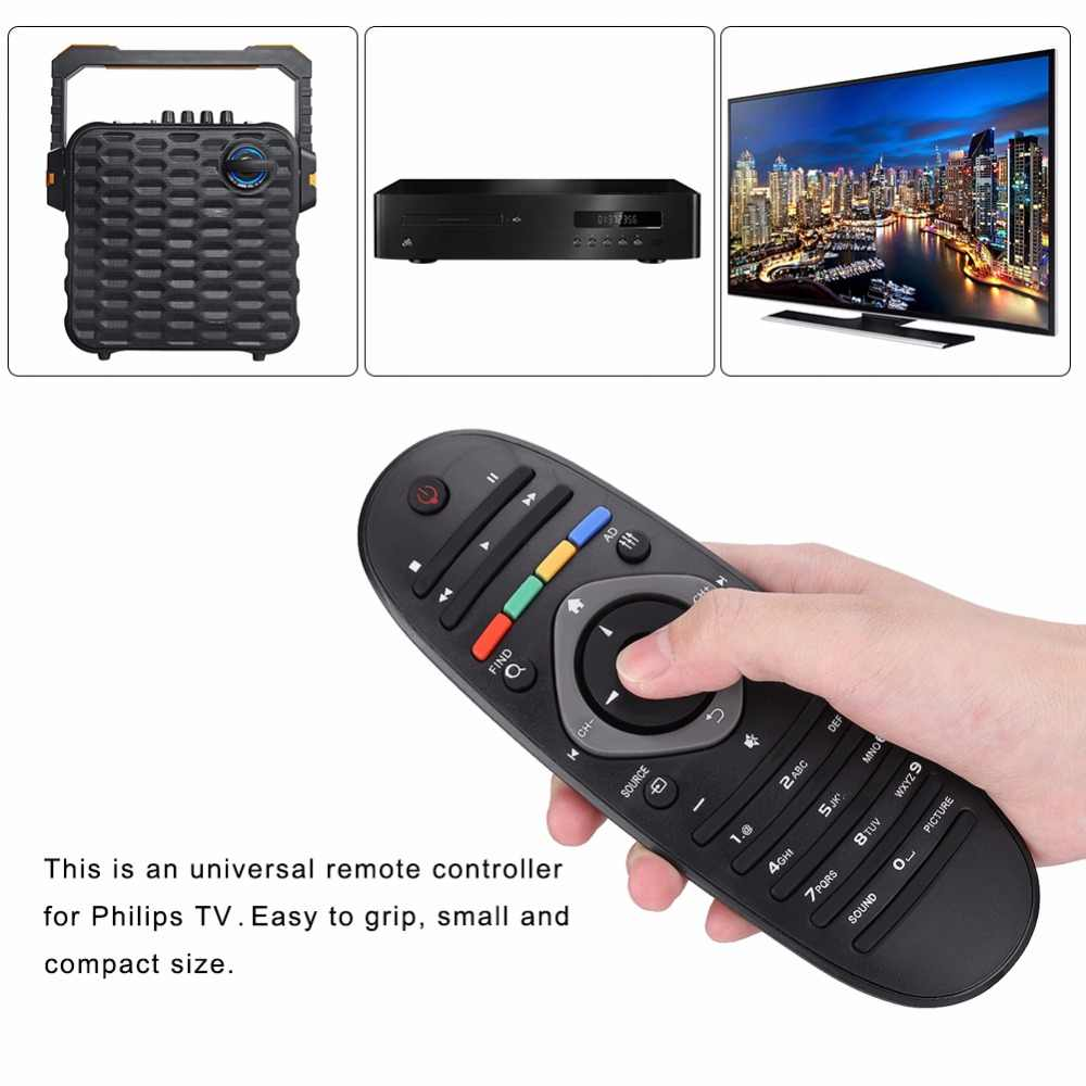 Vbestlife замена пульта дистанционного управления для Philips tv/DVD/плеер Aux динамик универсальный пульт дистанционного управления