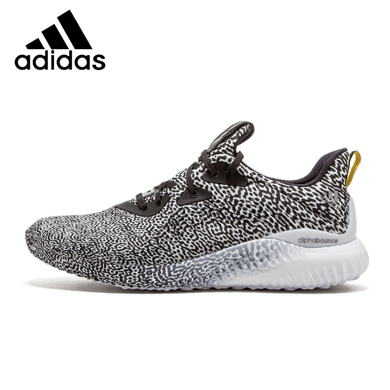 new product 4fdc7 d2d88 ADIDAS Original New Arrival ALPHABOUNCE Mens Basketball Shoes Stability  Breathable Professional Sneakers For MenB54366