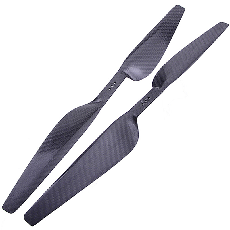 2pcs 1650 16X5.0 Carbon Fiber Propeller CW/CCW Props For RC Helicopter Airplane Quadcopter Drone Parts