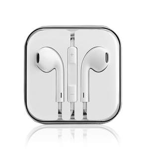 3.5mm In-ear Earphone Wired Earphones With Box For IPhone 4 4s 5 5s 6 6 s 6 splus