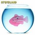 UTOYSLAND Divertidos Dibujos Animados Robofish Batería Educativo Accionado Eléctrico Fish Juguete de Agua Nadador Robo Fish Juguetes Para Niños de Regalo