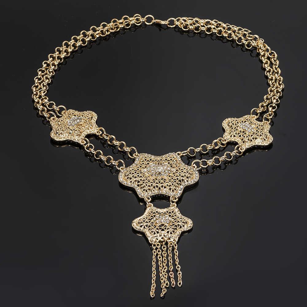 MUKUN turecki zestaw złotej biżuterii Dubaj luksusowe nigerii kobieta moda ślubna afrykańskie koraliki zestaw biżuterii kostium projekt hurtownia