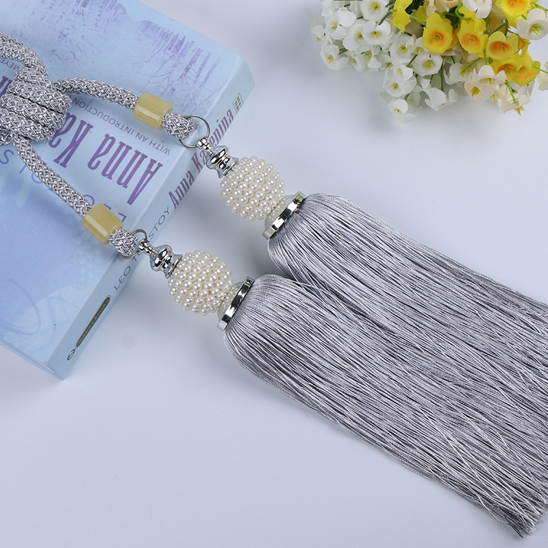 Luxury Home Decoration Window Curtain Pearl Accessories
