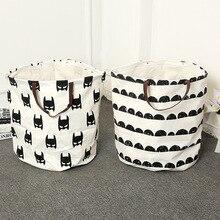 Zakka INS Miscellaneous Goods Clothing Laundry Baske Storage Bag Kids Toys Organizer Simple Eco-friendly Home Decor