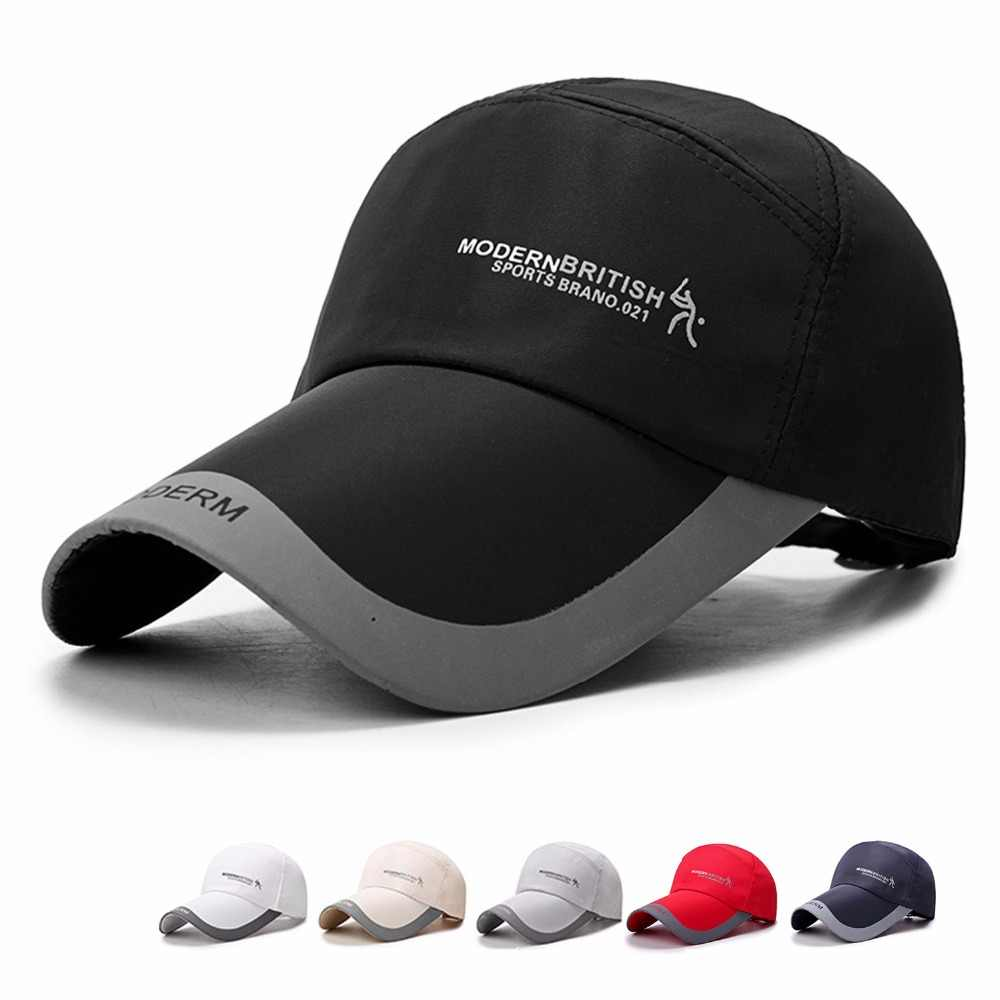 19f50932 High quality spring men's golf caps outdoor shade cap sports baseball hats  ponchos sun protection hat