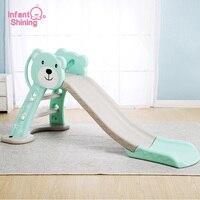 Infant Shining Kids Slide Toy Baby Room Slides for Kids Foldable Slide for Kids Indoor Game Toy Slide