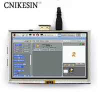 Cnikesin HDMI экран 5 дюймовый ЖК дисплей емкостный сенсорный экран подходит для Raspberry Pi компьютер HDMI i4a2 B черный