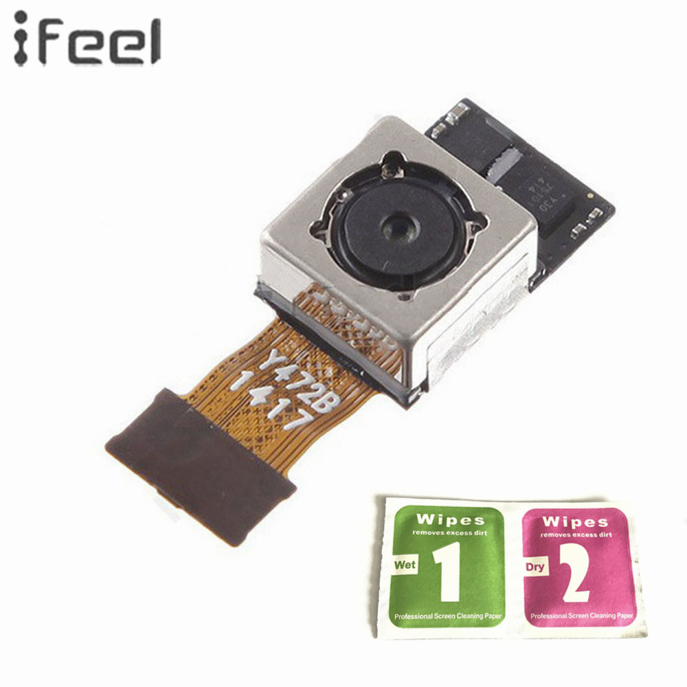 IFEEL For LG G3 D855 D850 D851 D852 Big Back Rear Main Camera Module Lens Flex Cable Replacement Parts With Free Shipping