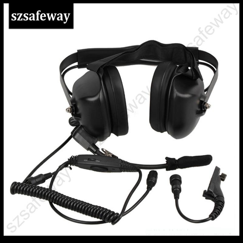walkie talkie headphone noise cancelling headset for Motorola DP3400 DP4801 APX7000 XPR6500 XPR6550 XPR7000 XPR7550 XiR