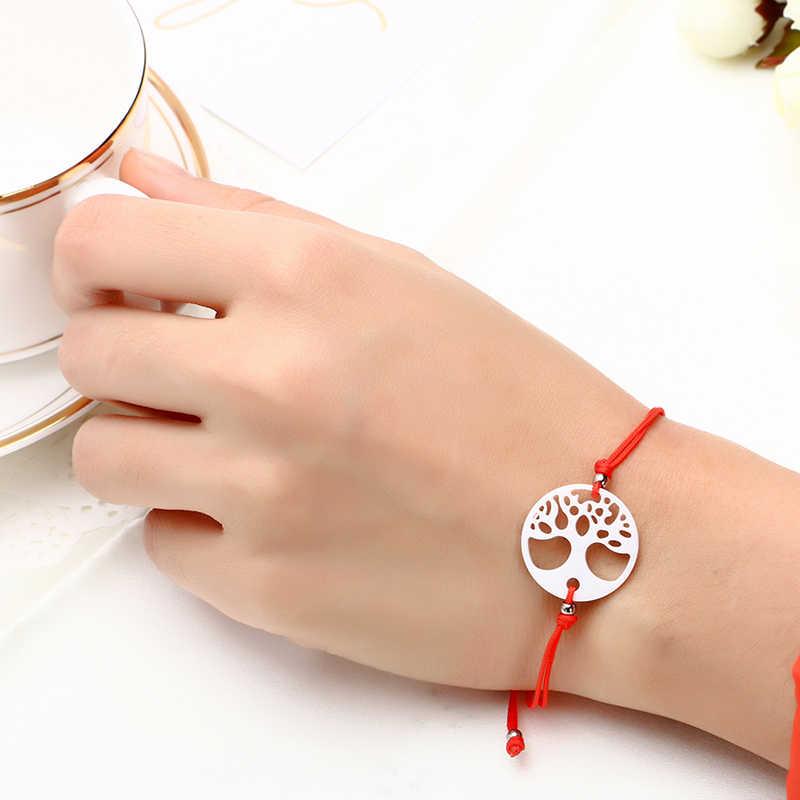 2019 ファッション赤糸文字列のブレスレット幸運ロープセラミックブレスレット手作り蝶のブレスレットの恋人のギフト