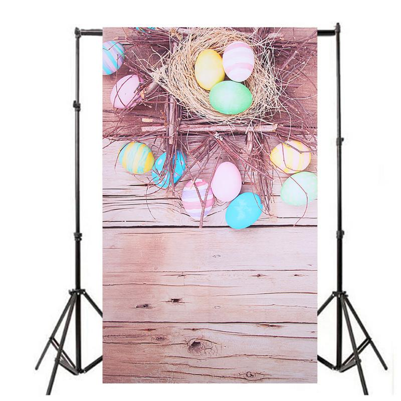 Vanpower Easter Day Photography Background, Vinyl Cloth Photo Studio Backdrop for Photography Studio 1.5x0.9m