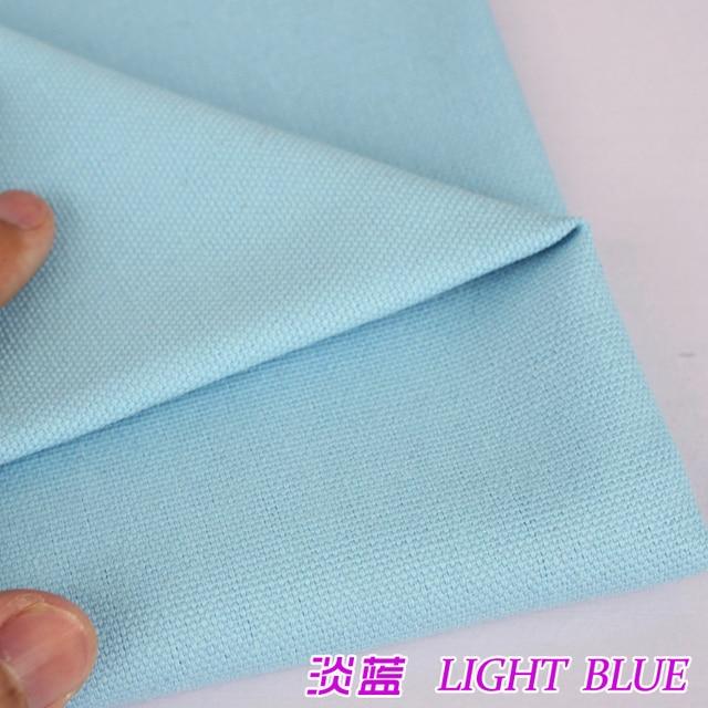 Light Blue Upholstery Canvas Cotton Duck Fabric Cotton Fabric Canvas Fabric  60