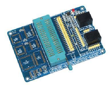 Free Shipping! 1pc MCD2/ICD2/PICKIT2/PICKIT3/QL200/ICD3 Universal Programming Module QL1201