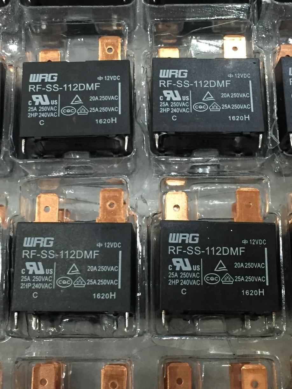2PCS 4Pins 12V RF-SS-112DMF 20A 250VAC Relay