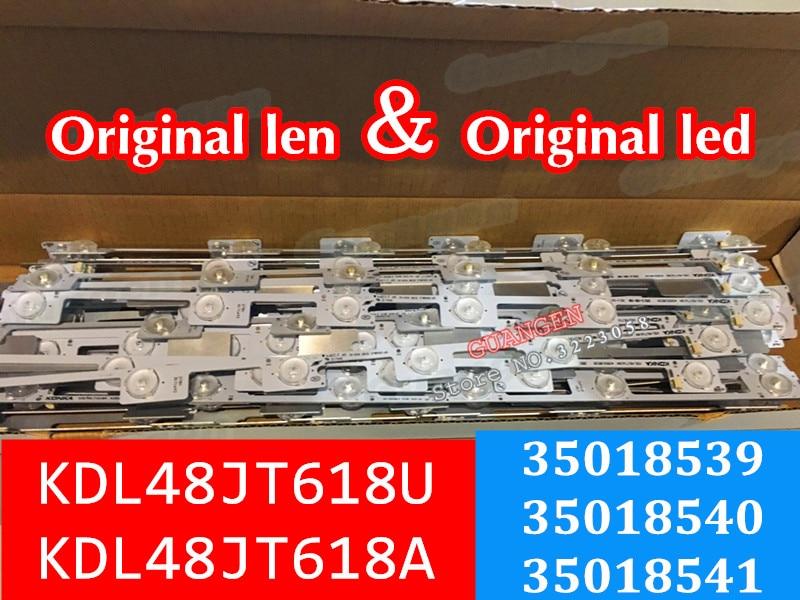new LED backlight bar strip for KONKA KDL48JT618A KDL48SS618U 35018539 6 LEDS 6V 442mmnew