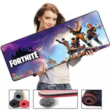Internet cafe Hot oversized mouse pad shooting game character pattern non-slip natural rubber mat with locking edge